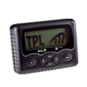 Picture of TPL Birdy WP Alphanumeric POCSAG ATEX Pager